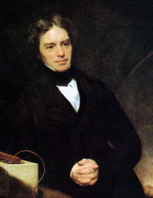 Faraday painting 1842