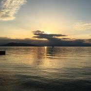 Sunset in Aegina